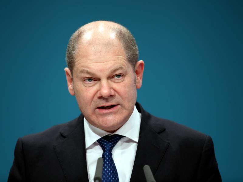 Scholz Praesentiert Koalitionsrunde Umfangreiches Konjunkturpaket