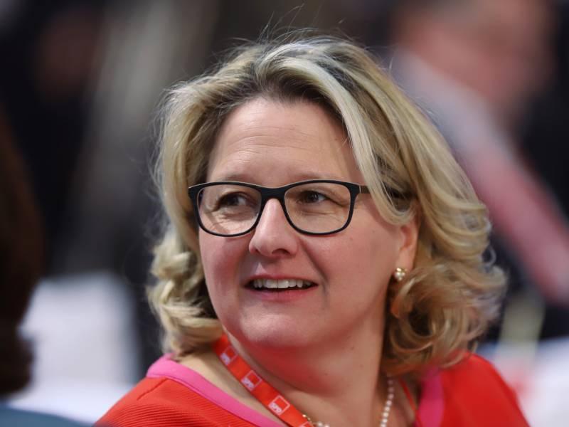 Umweltministerin Konjunkturhilfen Fuer Wirtschafts Umbau Nutzen