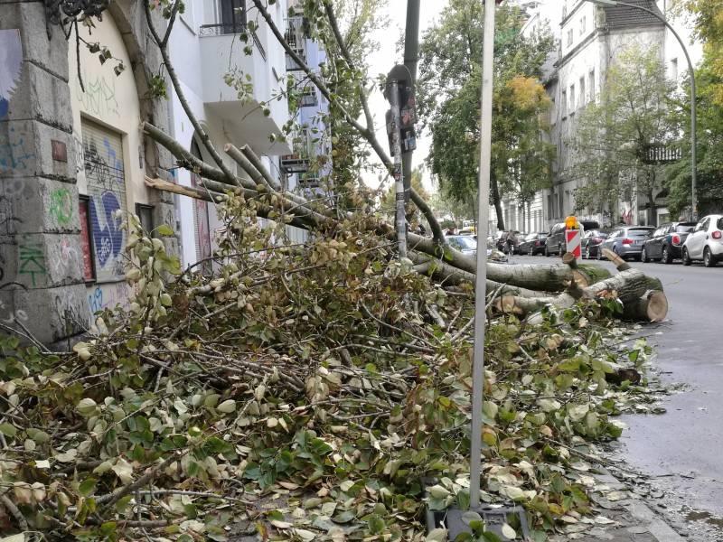 Weniger Schaeden Durch Unwetter In Deutschland