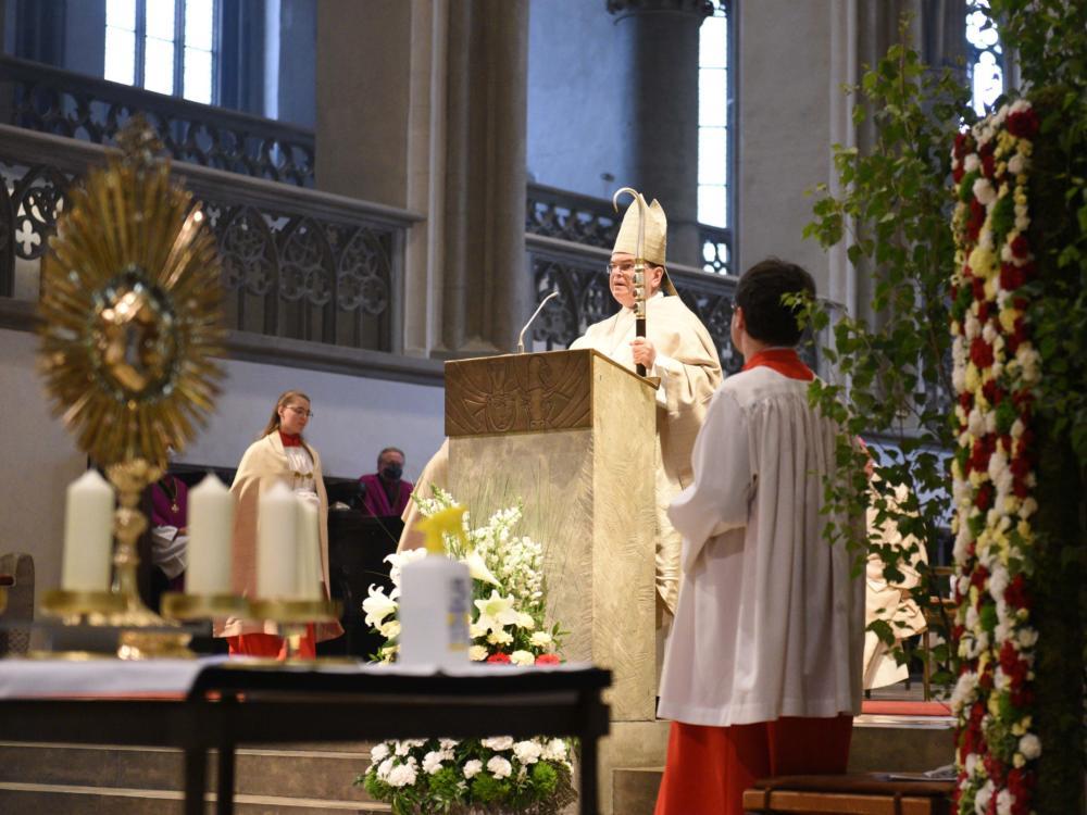 Fronleichnam Mit Bischof Dr. Bertram Meier Im Augsburger Dom Maria Steber Pba