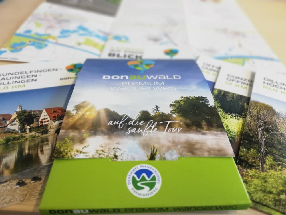 Kartenset Donauwald Wanderweg C Yvonne Streitel