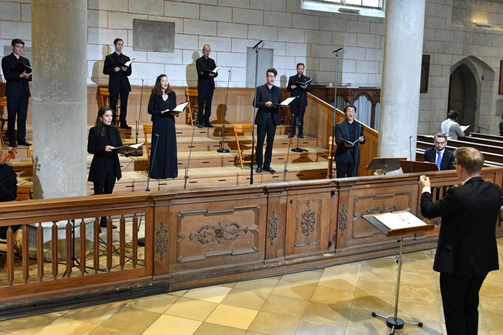Kirchenmusik Während Der Bischofsweihe Foto Nicolas Schnall Pba