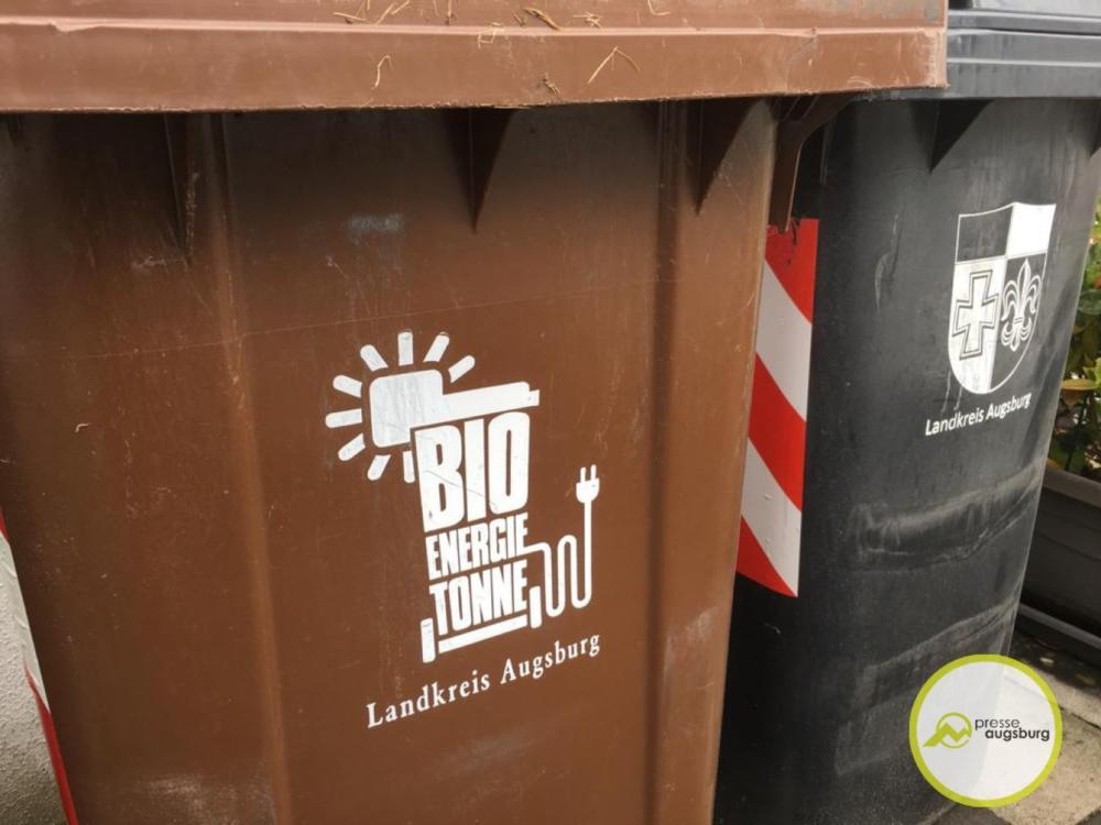 Mülltonne-abfall-bio Landkreis Augsburg   Gelbe Karte für Plastik und Metall im Bioabfall Landkreis Landkreis Augsburg News Newsletter Wirtschaft  Presse Augsburg