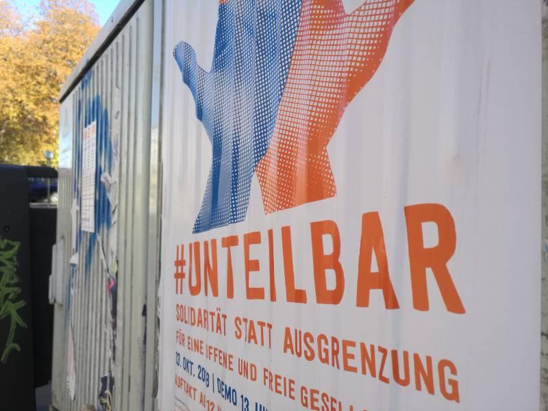 Berlins Regierender Und Lauterbach Unteilbar Demo Riskant