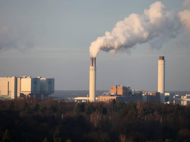 Bezug Von Treibhausgas Schwefelhexafluorid Gestiegen