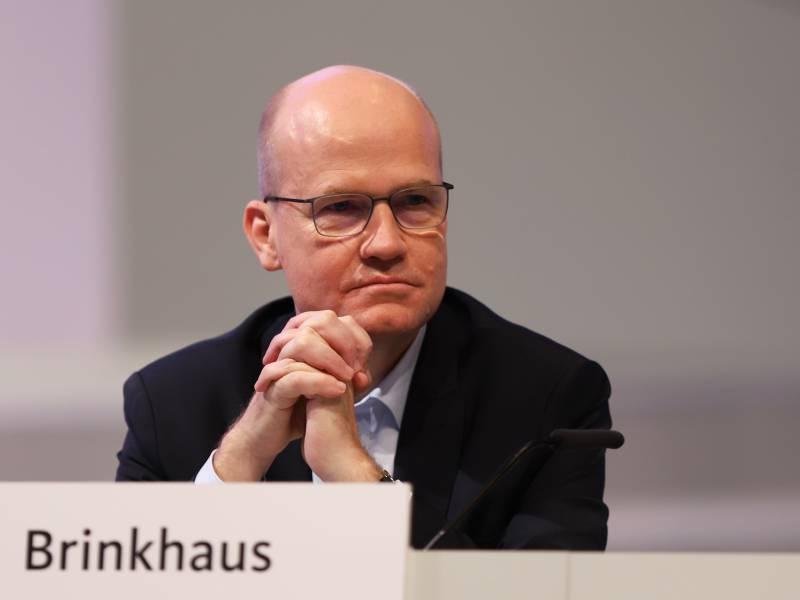 Brinkhaus Will Schnelle Rueckkehr Zur Schwarzen Null