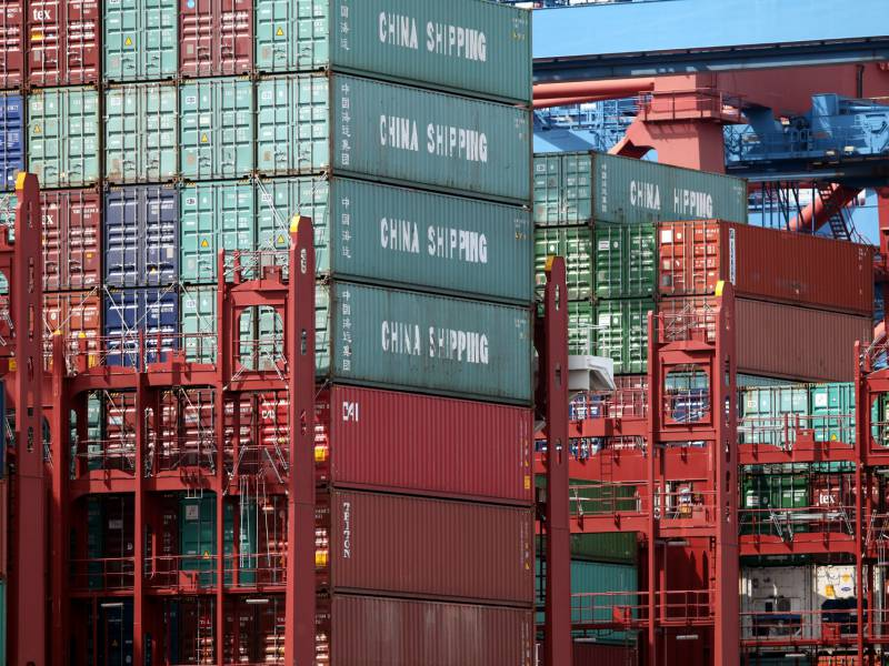Deutsche Industrie Blickt Besorgt Auf Us Chinesischen Konflikt
