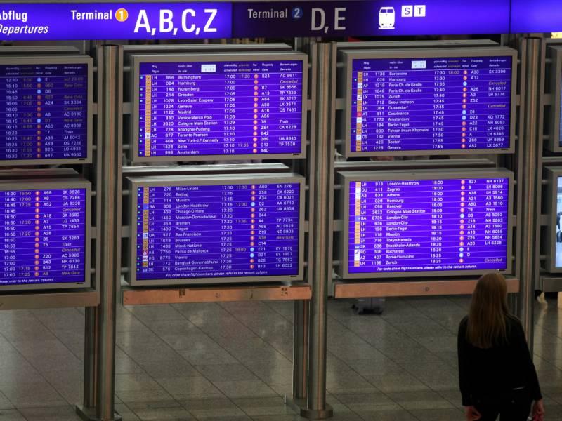 Flugverkehr Ab Frankfurt Nimmt Wieder Zu