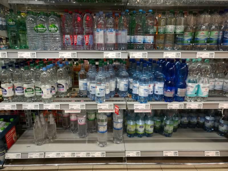 Produktion Von Mineralwasser Gestiegen