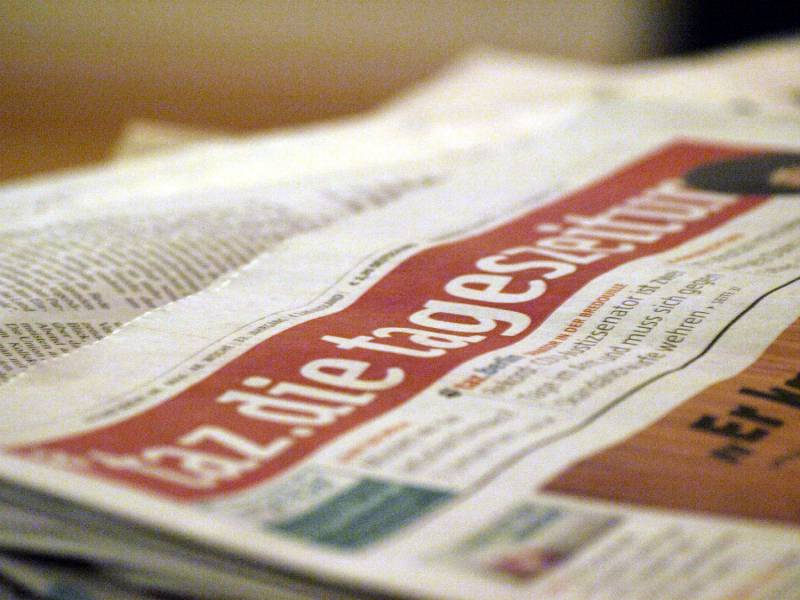 Union Kritisiert Taz Kolumne Ueber Polizei