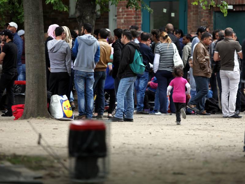 Anstieg Registrierter Schutzsuchender Abgeschwaecht