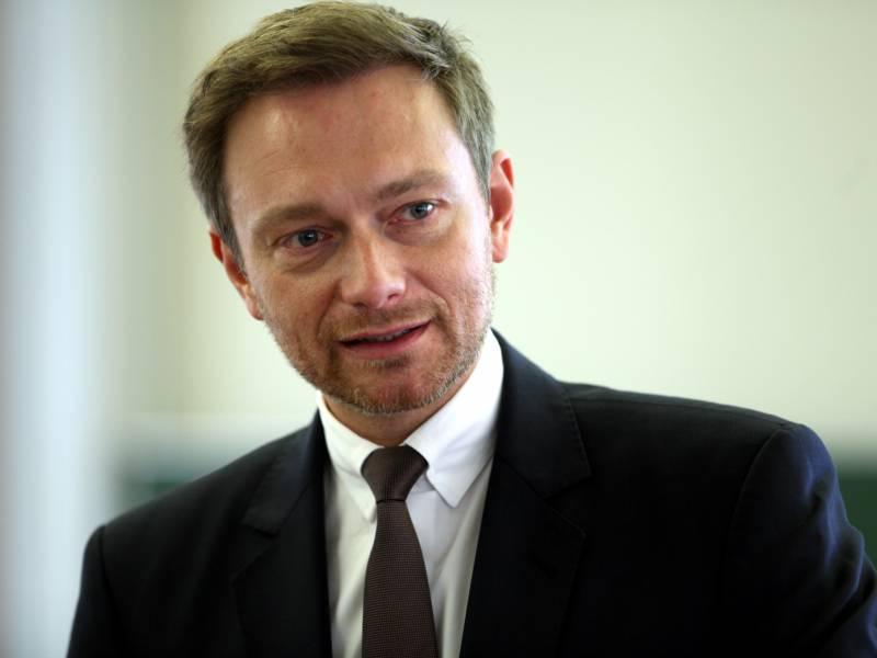 Fdp Chef Droht Mit Nein Zu Eu Wiederaufbauprogramm