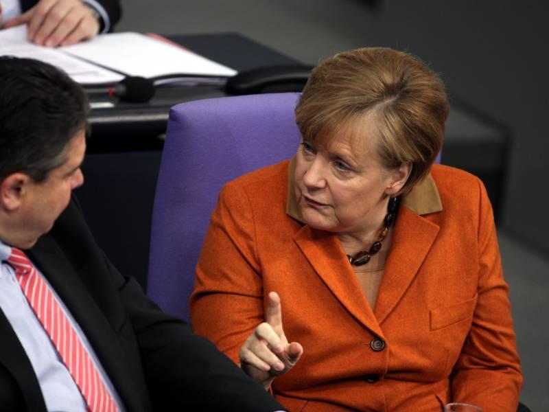 Gabriel Trump Bestraft Deutschland Und Merkel