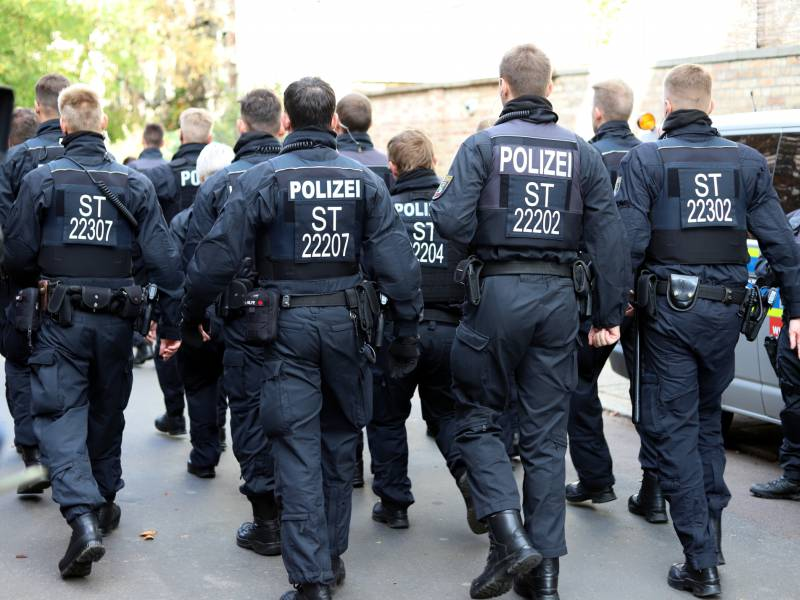 Linke Bund Und Laender Haben Polizei Totreduziert