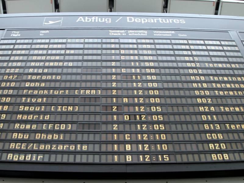 Luftverkehr Legt Wieder Zu