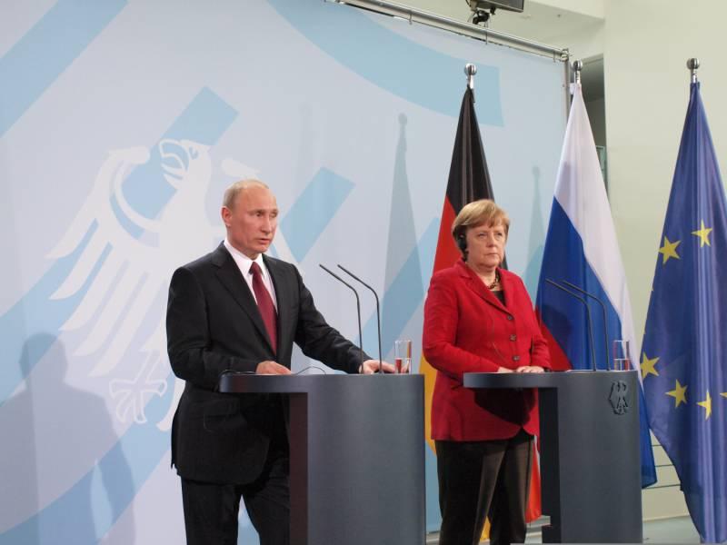 Merkel Spricht Mit Putin Ueber Ostukraine