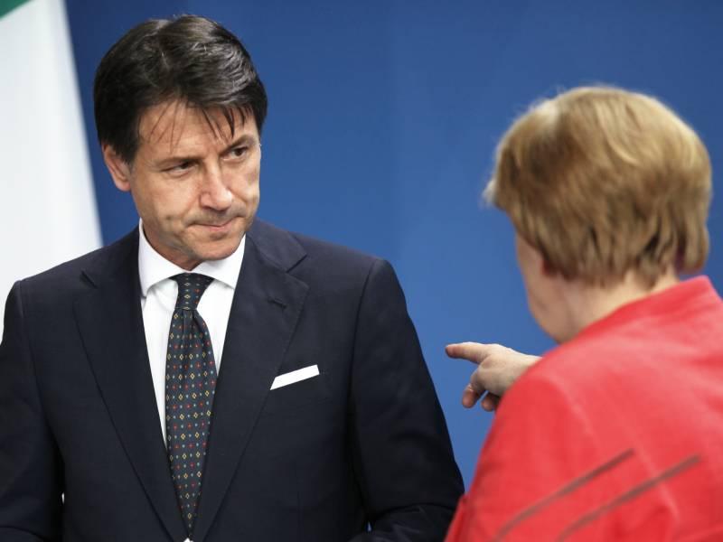 Merkel Und Conte Pochen Auf Schnelle Einigung Beim Eu Gipfel