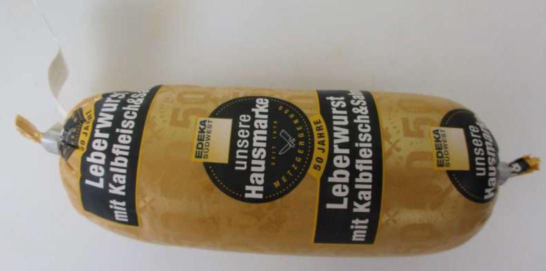 Produktrueckruf Leberwurst Mit Kalbfleisch 150 G
