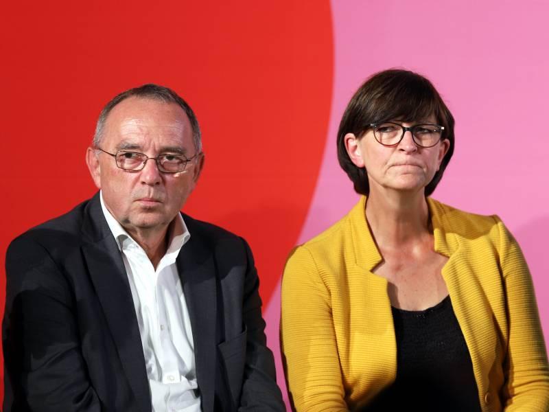 Spd Abgeordnete Kritisieren Esken Und Walter Borjans