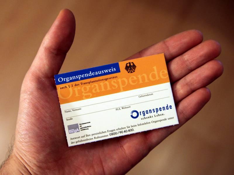 Zahl Der Organspender Deutlich Gestiegen
