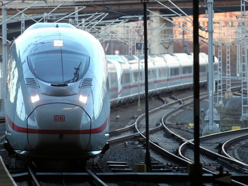 Bahn Im Personenverkehr Weit Von Eigenen Zielen Entfernt