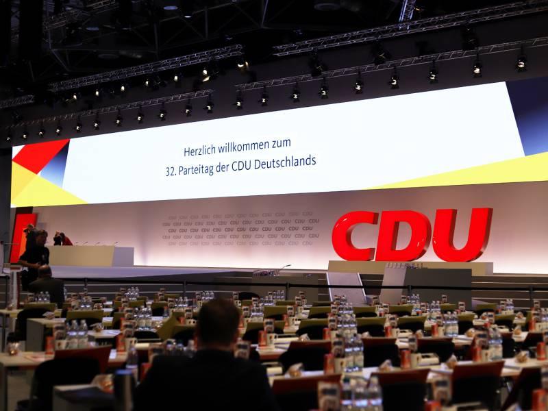 Bericht Cdu Parteitagstermin Im Dezember Auf Der Kippe