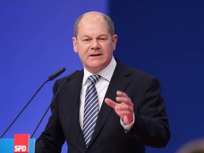 Berlins Regierender Begruesst Scholz Nominierung