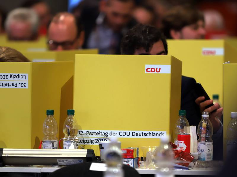 Cdu Vize Strobl Bundesparteitag Findet Statt