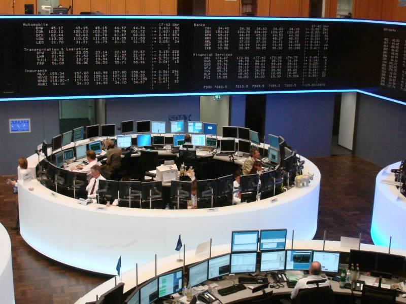 Dax Laesst Deutlich Nach Deutsche Bank Schwach