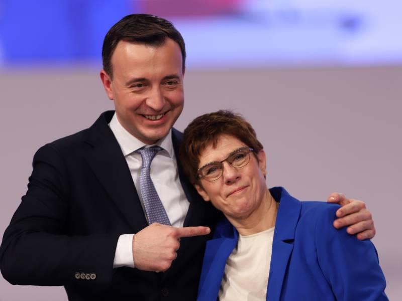 Infratest Union Vergroessert Vorsprung