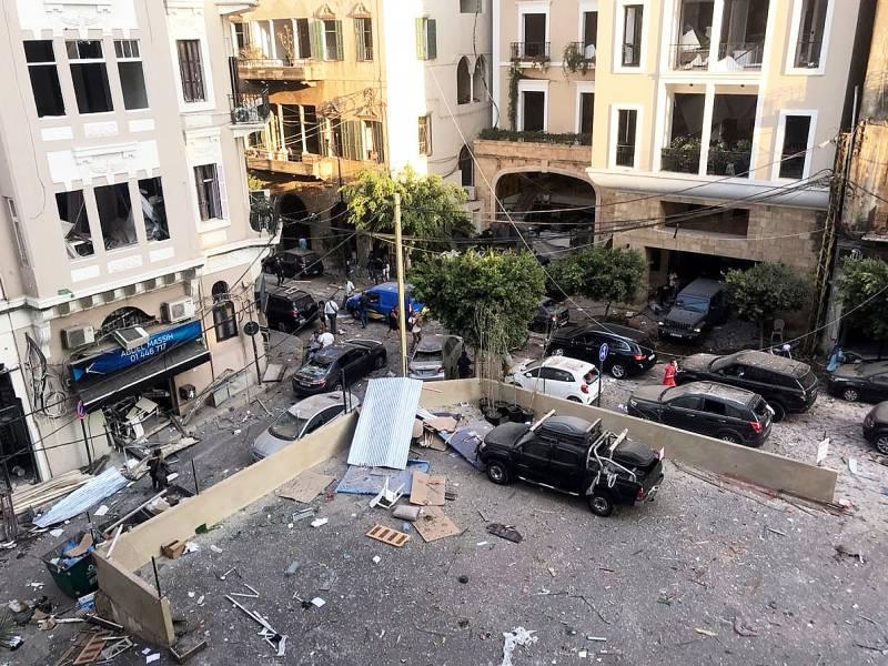 Libanesische Regierung Tritt Nach Explosionskatastrophe Zurueck