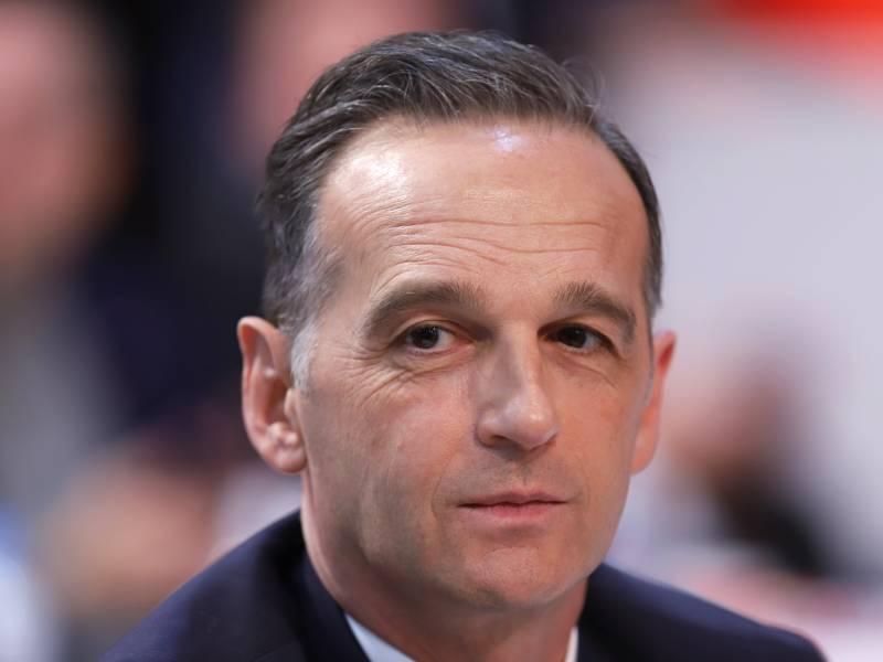 Maas Erklaert Sanktionen Gegen Weissrussland Gezielt Bestrafen