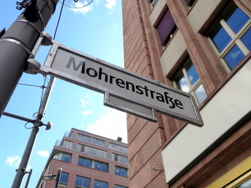 Mohrenstrasse In Berlin Soll Umbenannt Werden
