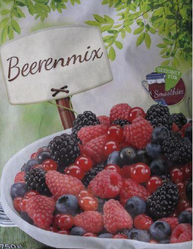 Produktrueckruf Beerenmix 750G
