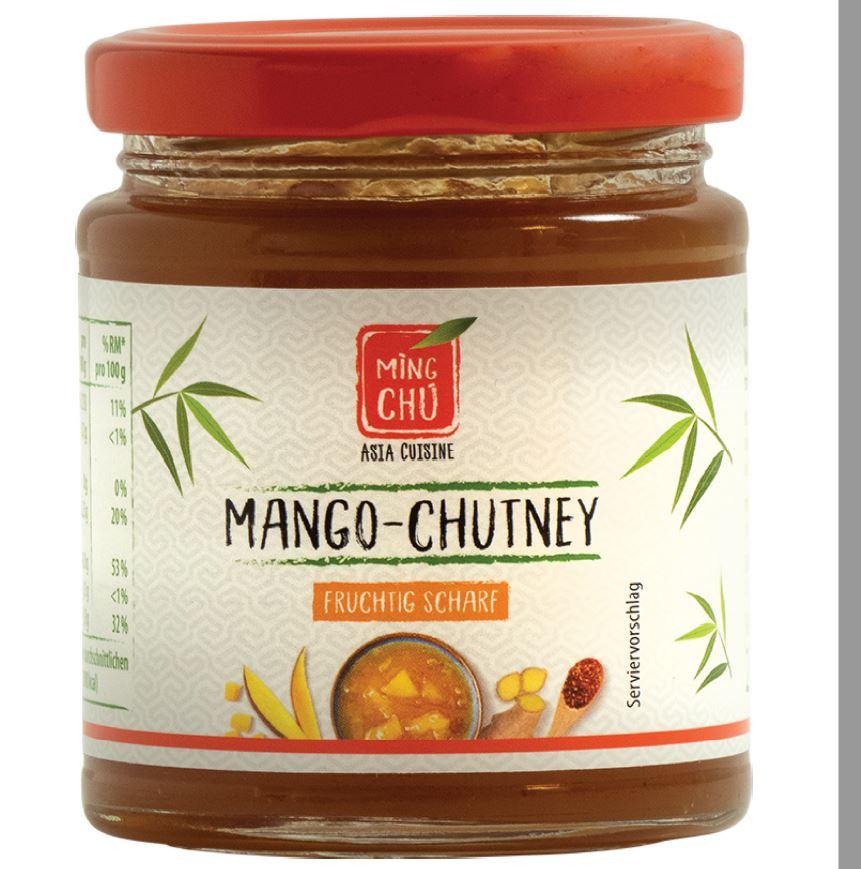 Produktrueckruf Mango Chutney Fruchtig Scharf Ming Chu Asia Cuisine