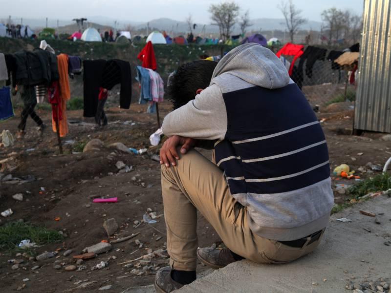 Stamp Will Mehr Unterstuetzung Fuer Griechische Fluechtlingspolitik