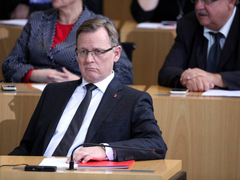 Thueringens Innenminister Kritisiert Ramelows Alleingaenge