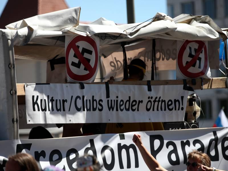 Verfassungsschutz Corona Proteste Meistens Nicht