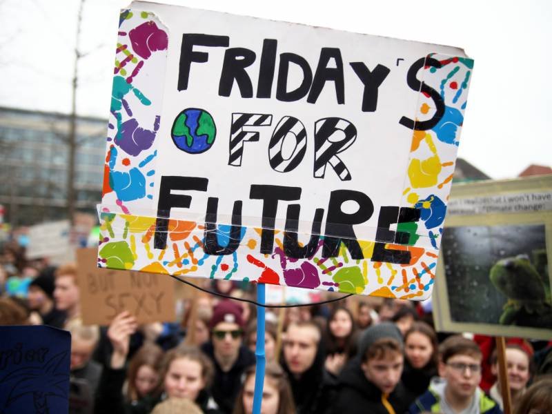 Wenig Zulauf Fuer Online Streiks Von Fridays For Future