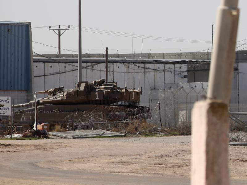 Wieder Scharmuetzel Am Gazastreifen