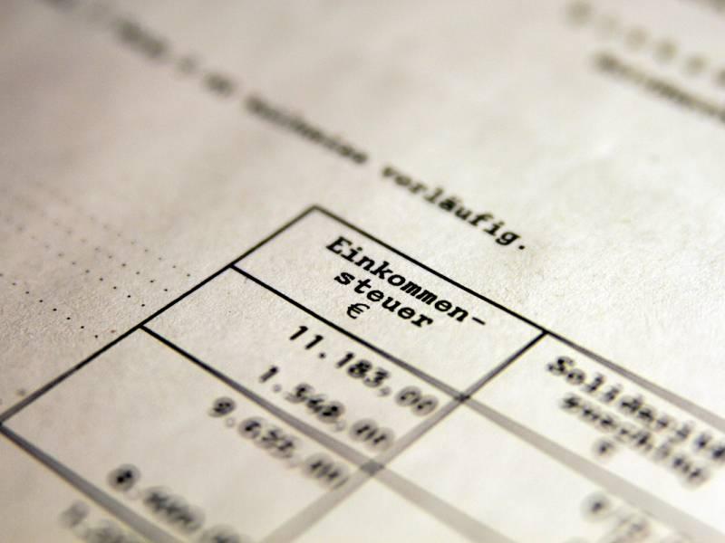 Bdi Warnt Vor Steuererhoehungen