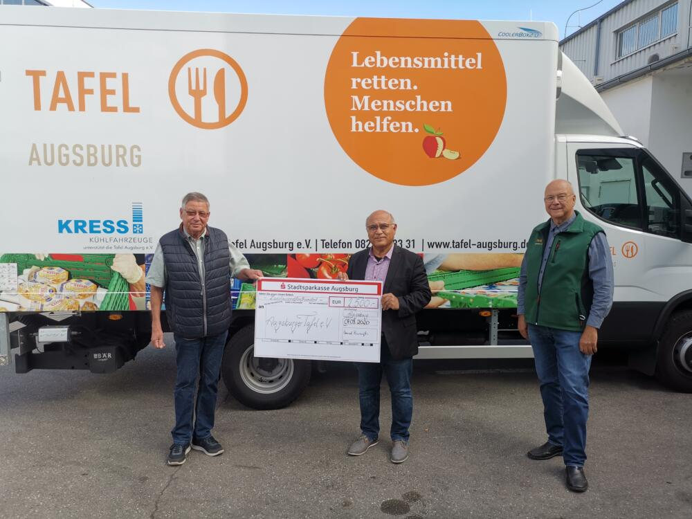 bild2 Grünen Abgeordneter Cemal Bozoğlu spendet Diätenerhöhung an die Tafel in Augsburg Augsburg Stadt News Politik Region |Presse Augsburg