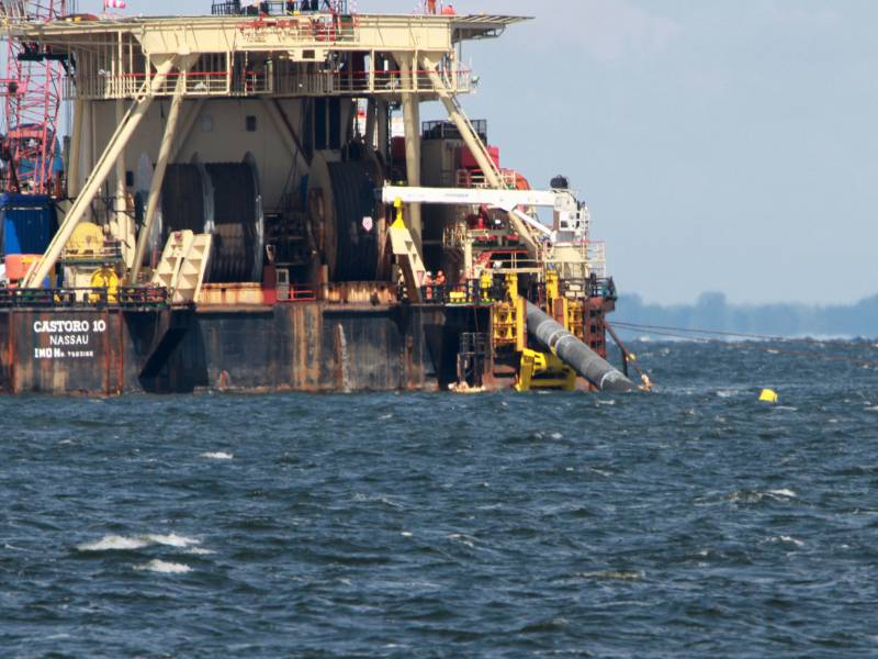 Cdu Wirtschaftssprecher Nord Stream 2 Muss Weitergebaut Werden