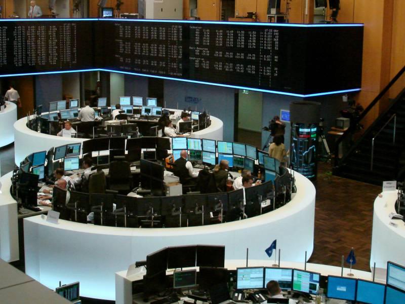 Dax Laesst Nach Deutsche Bank Hinten