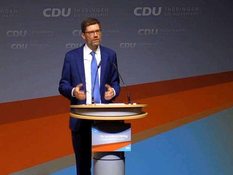 Hirte Neuer Chef Der Thueringen Cdu