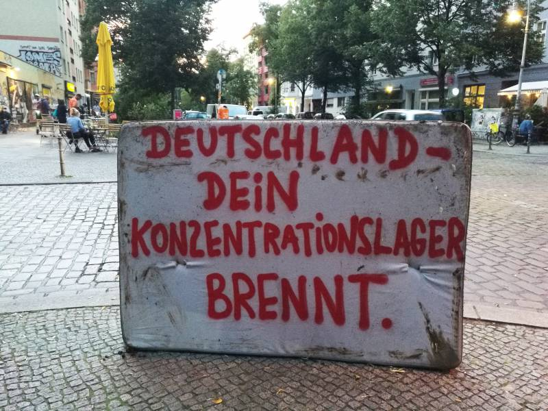 Landkreistag Lehnt Nach Moria Brand Alleingaenge Ab