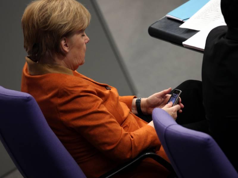 Merkel Benennt Huerden Fuer Digitalisierung Von Schulen
