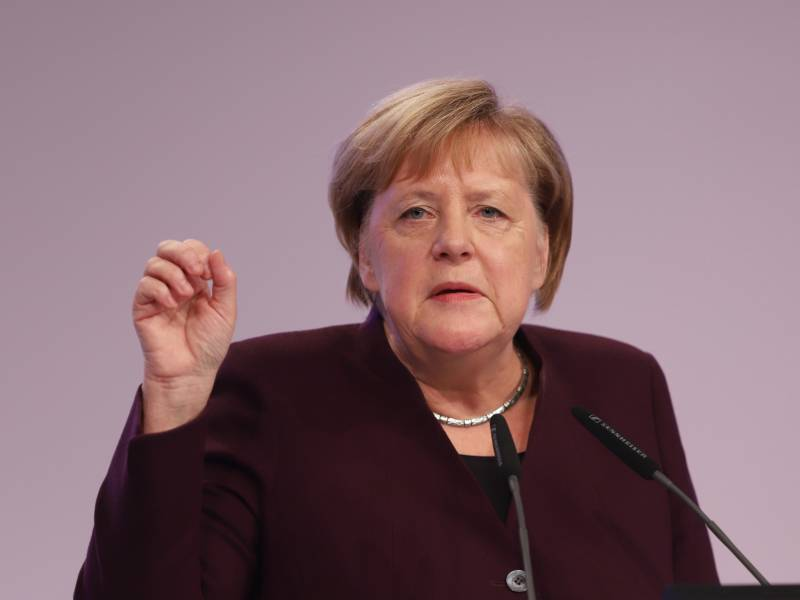 Merkel Einheit Ist Kein Abgeschlossener Zustand