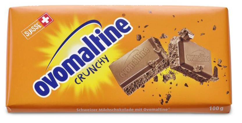Produktrueckruf Ovomaltine Schokolade