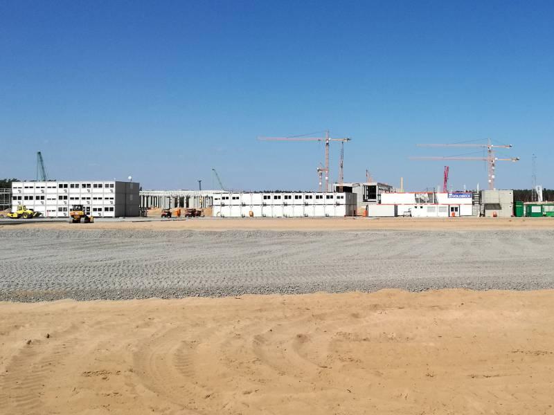 Steinbach Tesla Fabrik Koennte 40 000 Jobs Schaffen